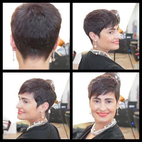 disheveled pixie hair style tutorial women s haircut tutorial pixie haircut thesalonguy