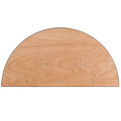 4 foot round table top half round table lifetime commercial foldinhalf round