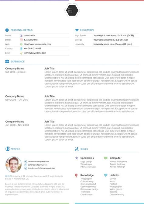 behance resume template 67 best images about cvs on cool resumes