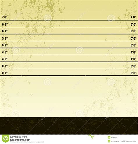 Look Up Criminal Record For Free Criminal Line Up Background Vector Illustration Royalty