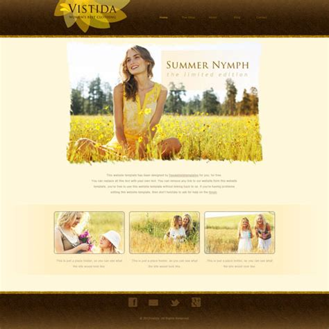 clothing website templates free clothing website template free website templates