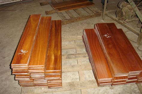 prefinished universal grade asian teak hardwood flooring