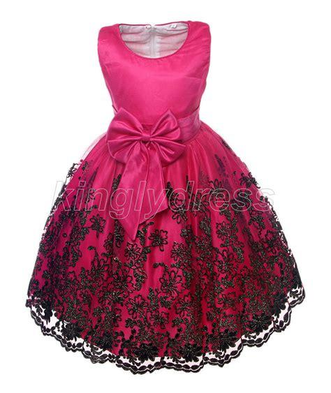 Dress Onde Pink Kid By Z Shop new kid flower pageant wedding dress cerise