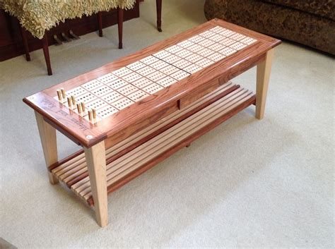 cribbage board coffee table 25 best ideas about cribbage board on cool