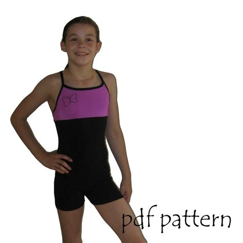 unitard pattern pdf 23 best images about sewing gymnastics on pinterest
