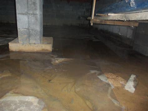 standing water in basement standing water in a crawl space in bridgeport west virginia