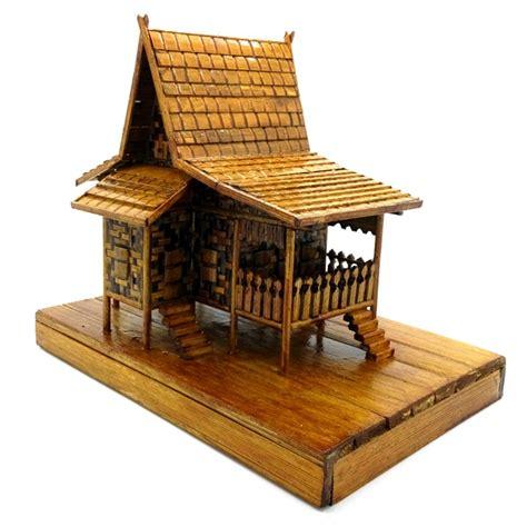 cara membuat rumah adat papua miniatur harga miniatur rumah adat banjar rumah baanjung dari