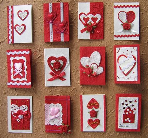 Valentines Handmade - 25 beautiful valentine s day card ideas 2014