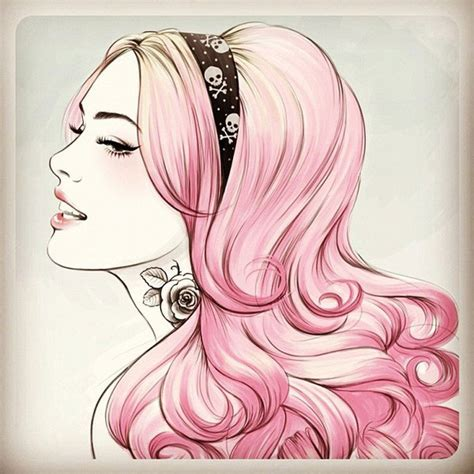 Pink Sketches by 10 Beautiful Inspiring Fashion Illustrations Web