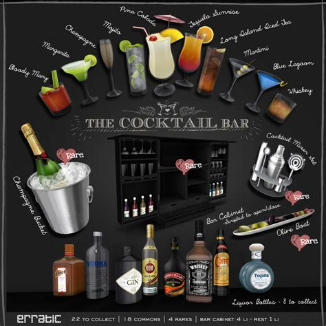Drinks Bar Accessories Erratic
