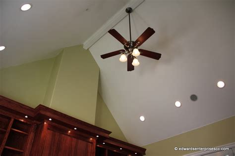 Vaulted Ceiling Recessed Lighting by Oxnard Recess Can Light Installs Repairs
