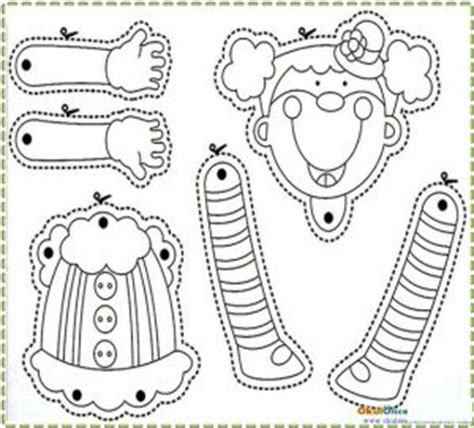 clown template preschool clown craft idea for crafts and worksheets for