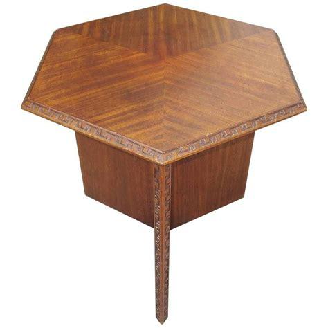 Henredon Side Table by Frank Lloyd Wright Side Table For Heritage Henredon 1955