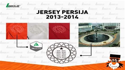 Jersey Persija Macan foto foto jersey persija 13 14 update persija