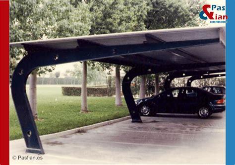 porches para coches marquesinas parking pas fian construcciones met 225 licas
