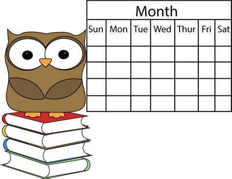calendar clipart owl and calendar clip owl and calendar image