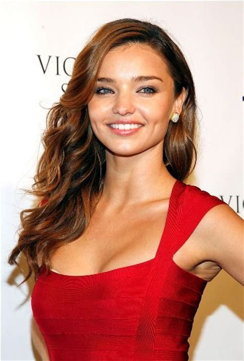 aussie 2015 hair styles and colours miranda kerr bra size age weight height measurements