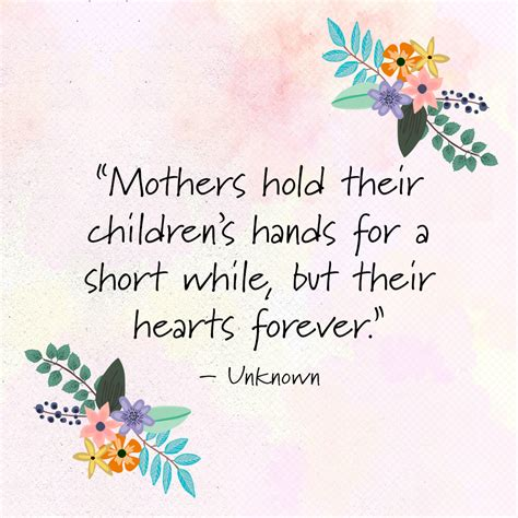 10 short mothers day quotes poems meaningful happy mother s day sayings
