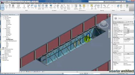 tutorial revit roof revit tutorials skylights youtube