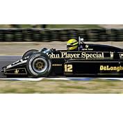 Lotus 98T O Carro De Ayrton Senna Em 1986 Tira A Roupa E
