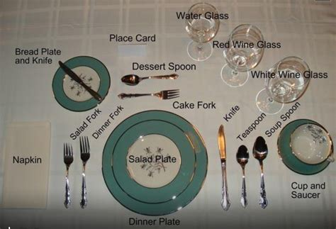 table setting pictures table setting etiquette chopped pinterest
