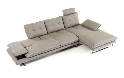 sectional sofa ebay divani casa porter modern grey fabric sectional sofa ebay