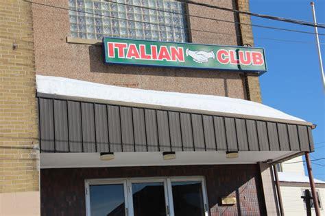 copper cliff italian club turns   invites