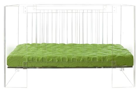 Lucite Crib by Clear Acrylic Crib That Rocks Decoholic