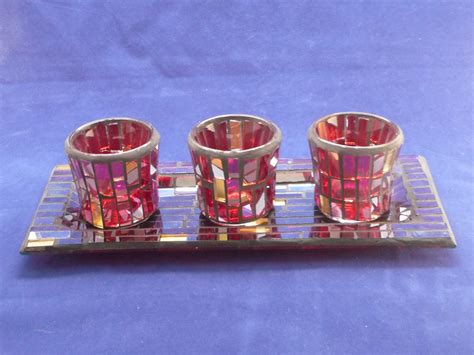 Votive Candle Holder Tray Candles And Candle Holders