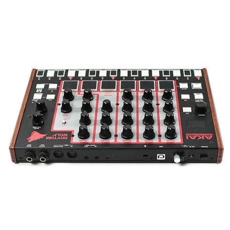 rhythm wolf drum akai rhythm wolf analog drum machine bass synthesizer reverb