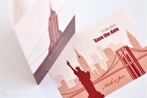 hochzeitseinladung new york empire state building new york hochzeitskarten