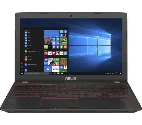 Laptop Asus For Gaming asus republic of gamers fx553 15 6 quot gaming laptop black