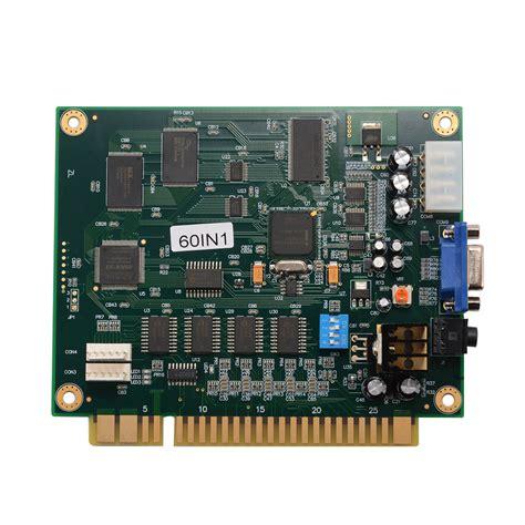 Multi Board classic jamma arcade 60 in 1 motherboard multi board cga vga output ac708 ebay
