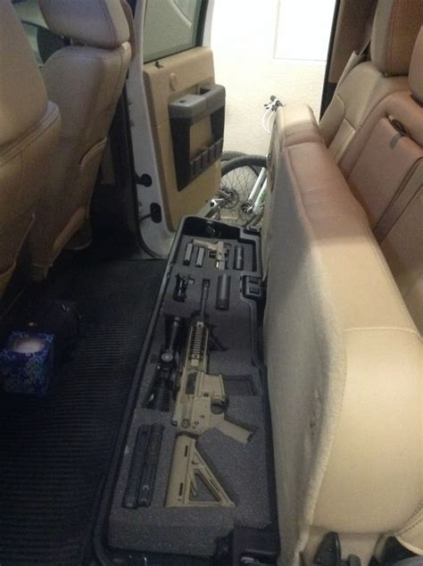 seat gun storage applicable nfa apply