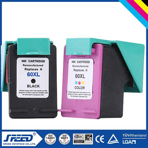 Office Supplies Bulk Wholesale Office Supply Black Ink Cartridge For Hp 60