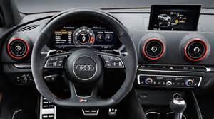 2017 audi rs3 sedan 400 hp interior