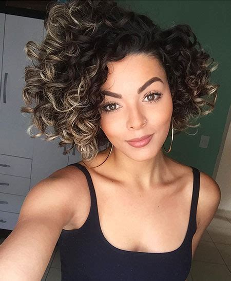 curly hairstyles short haircuts ideas 25 gorgeous short naturally curly hair ideas short