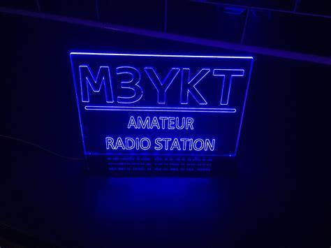 Led Wifi Backlite Sign cb radio led illuminated call signs