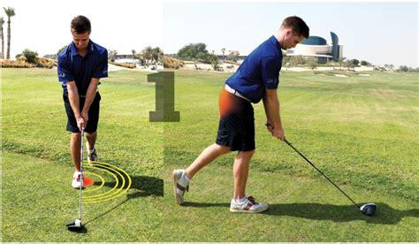 swing the lead long drives need a powerful base worldwide golf