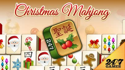 app shopper: christmas mahjong plus (games)