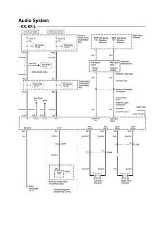 2000 honda radio wiring diagram radio download free