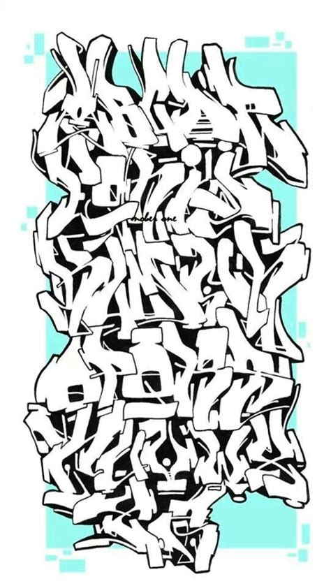 alphabet graffiti lettering graffiti wildstyle