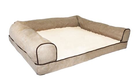 sofa style orthopedic pet bed mattress 55 on sofa style orthopedic pet bed livingsocial shop