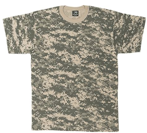 Army Camouflage T Shirt Pull digital acu digital camo army acu s army combat uniforms