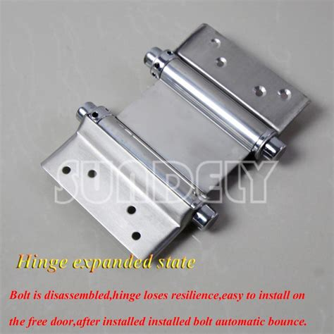 double swing door hinges sundely 6 quot double swing door action hinges 2 way salloon