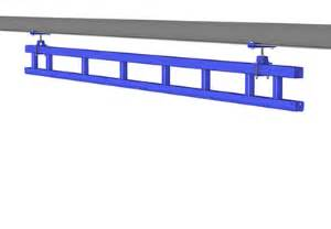 monorail cranes enclosed track monorails gorbel