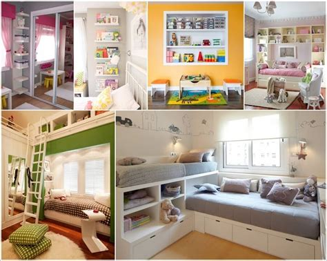 Home Interior Design Ideas For Small Spaces by 12 Clever Small Kids Room Storage Ideas