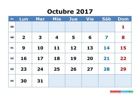 Calendario Noviembre Diciembre 2017 Calendario 2017 Octubre Octubre Diciembre