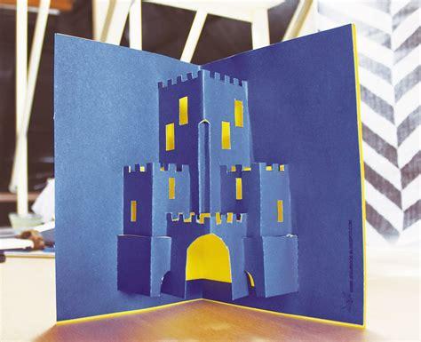 pop up paper crafts jeguridos crafts card pop up castillo pop up