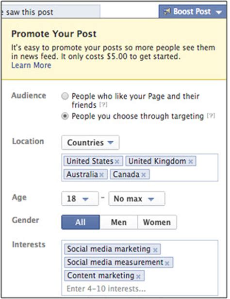 how to use geo targeting through social to find your audience